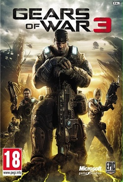 Xbox360]gears of war complete quadrilogy [god] [2006-2013|rus.