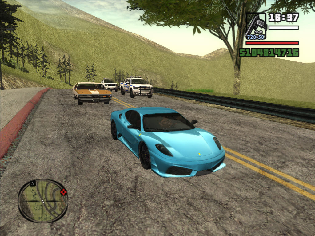 Grand Theft Auto San Andreas с Модами