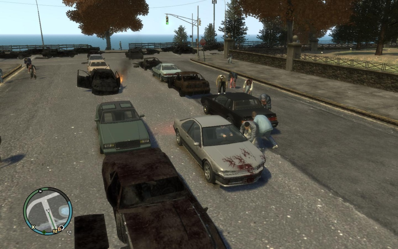 видео игра гта 5 зомби апокалипсис видео