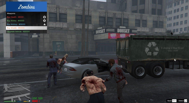 Скачать гта с модами на зомби