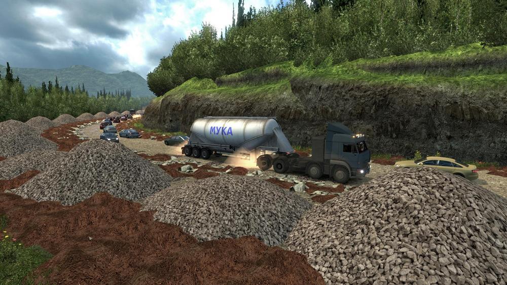 Euro Truck Simulator 2 скачать моды новые машины - фото 11