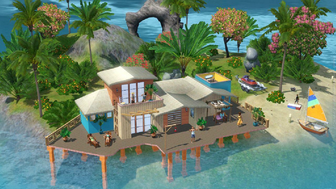 Скачать о симс райские острова через торрент