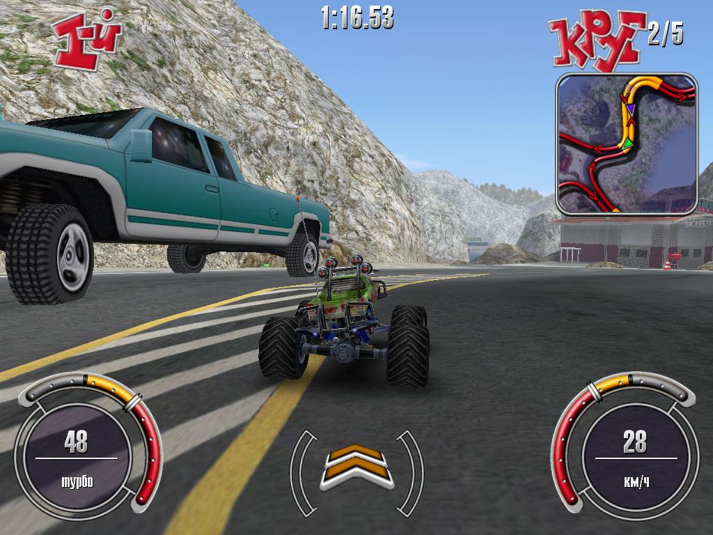 Недетские гонки / r. C. Cars (2002) rus скачать через торрент на pc.
