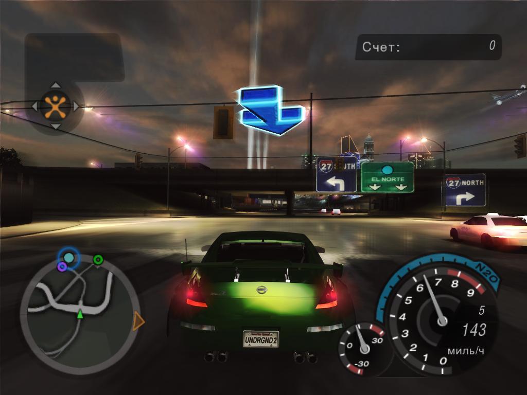 скачать игру бесплатно на компьютер гонки Need For Speed Underground 2 - фото 9