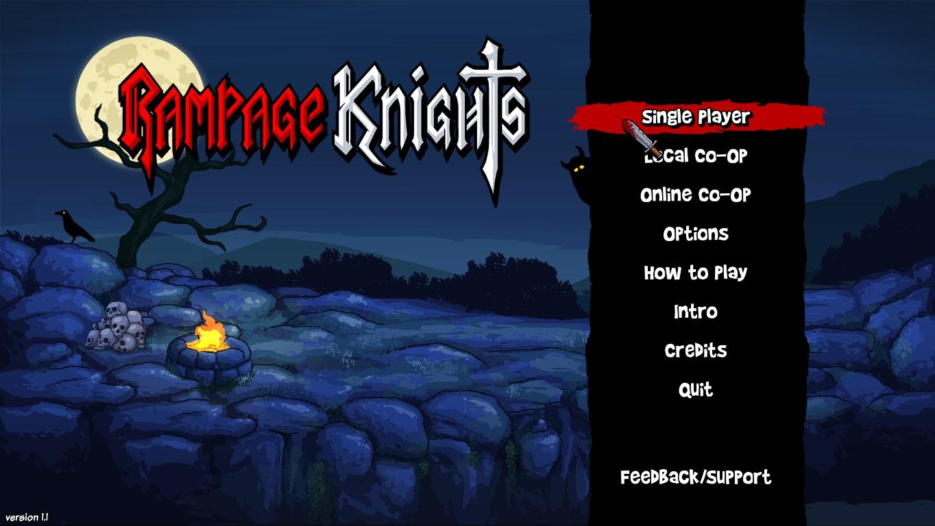 Торрент rampage knights.