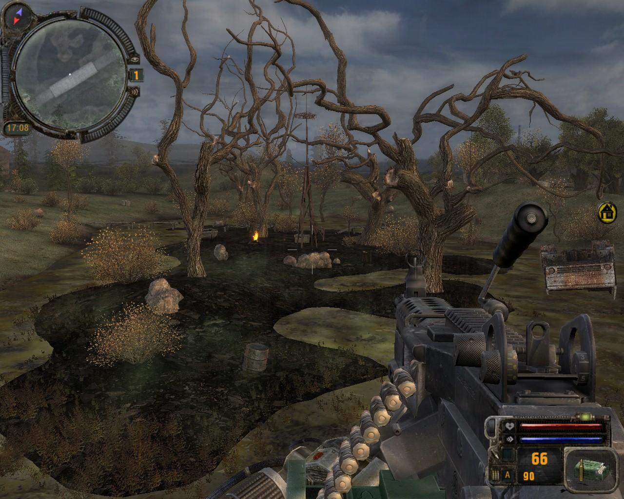 Скачать сталкер с модом снайпер