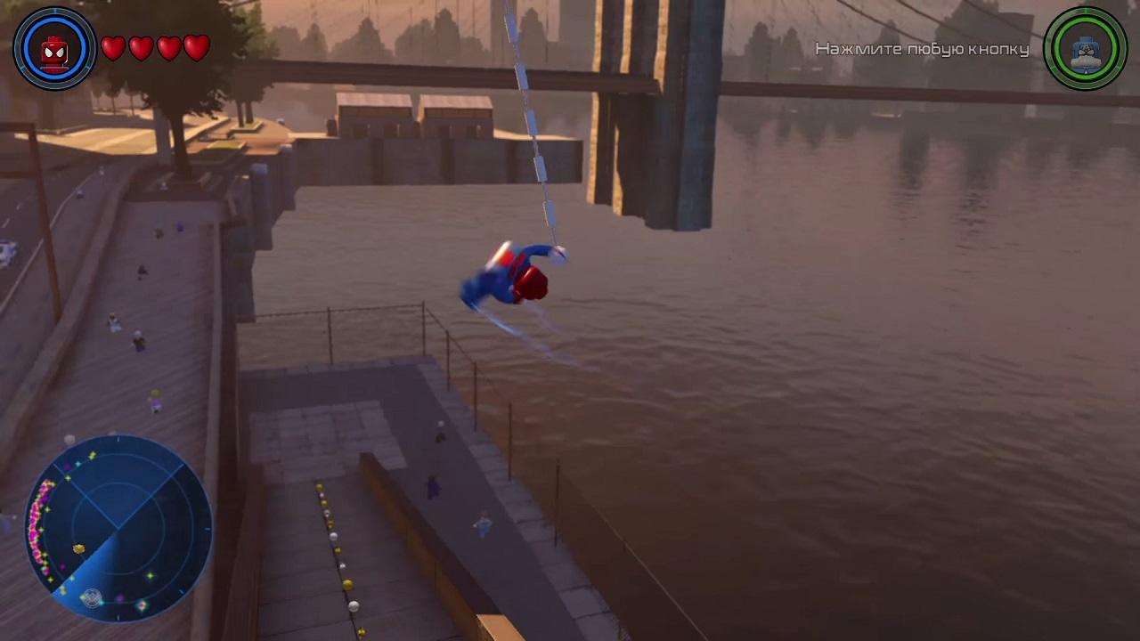 скачать торрент человек паук лего