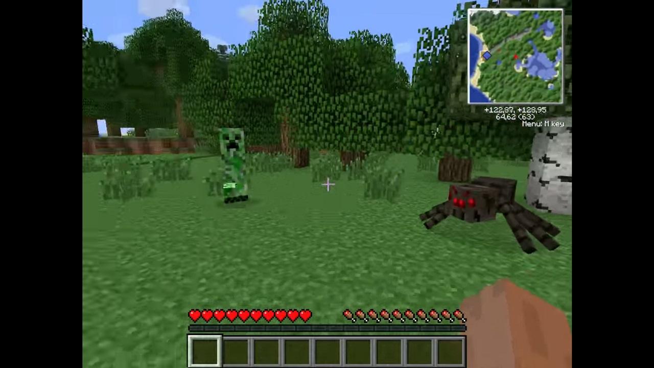 Скачать Minecraft 1.3.1 торрент бесплатно на компьютер