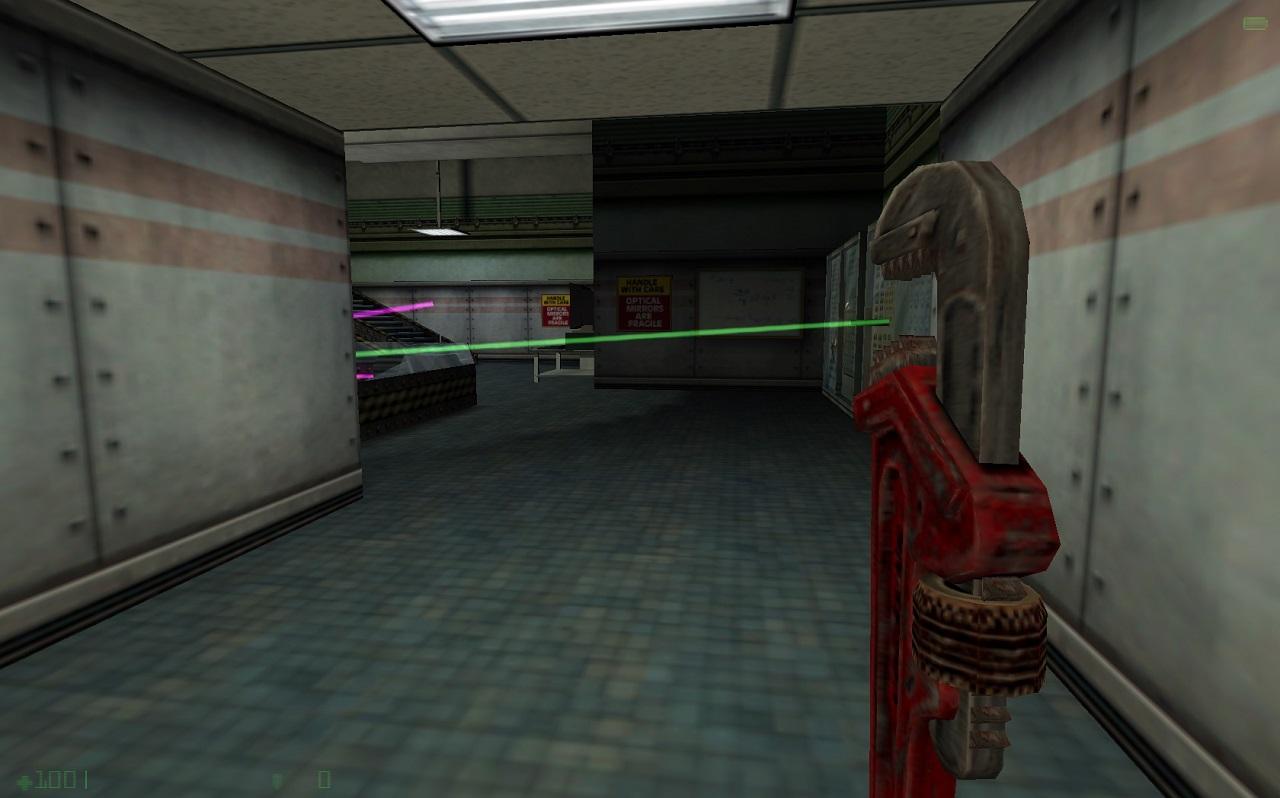 Black mesa являет ремейком игры half- life и построена на обновленном движке source, что позволило улучшить текстуры