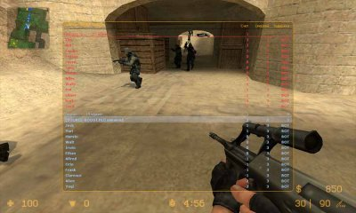 Counter Strike Source с ботами