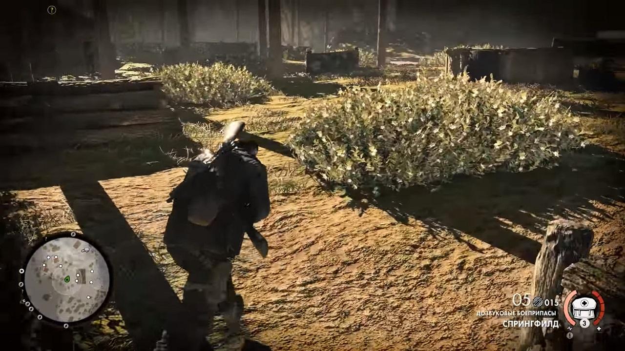 игра снайпер элит 3 прохождение оазис сива