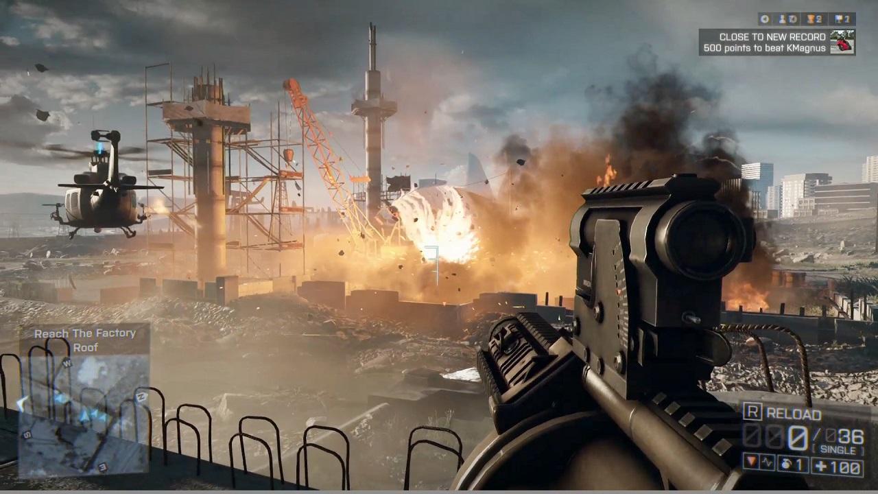 видео мультиплеер игры battlefield 3