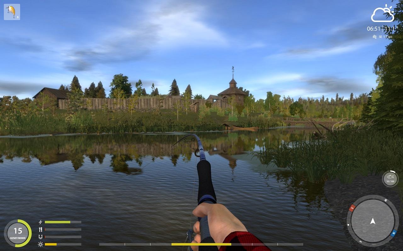 игры про рыбалку русская рыбалка