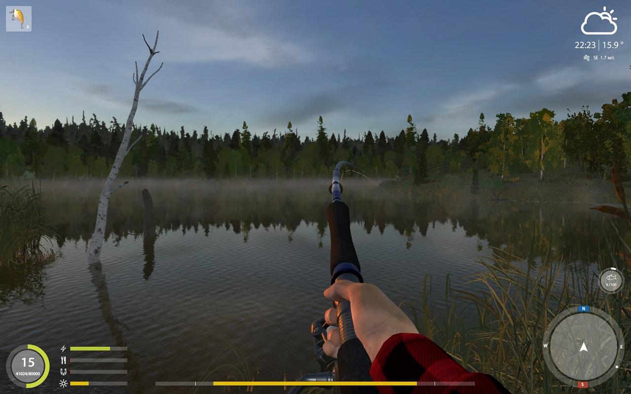 Скачать рыбалку со спиннингом на компьютер игру