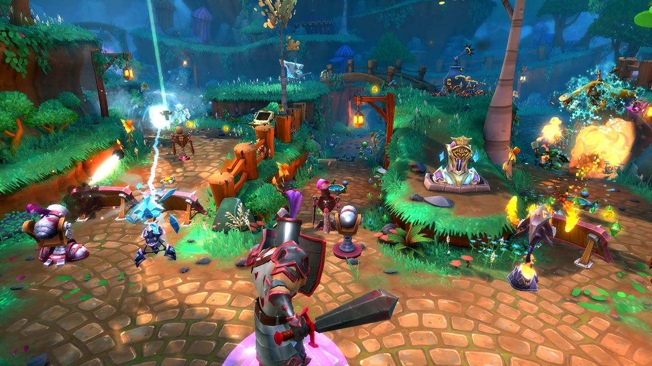 Скачать dungeon defenders 2 на пк