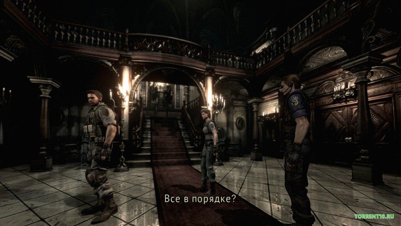 Резидент эвил ремейк скачать торрент rus