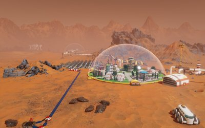 Surviving Mars Механики