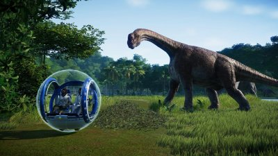 Jurassic World Evolution на русском