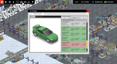 Production Line Car factory simulation